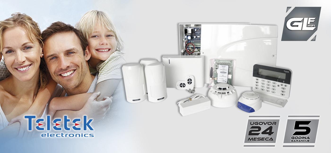 GLF WiFi paket alarm monitoringa